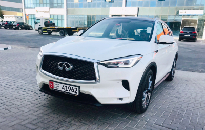 Infiniti QX50 Price in Dubai - SUV Hire Dubai - Infiniti Rentals