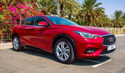Infiniti Q30 Price in Dubai - Cross Over Hire Dubai - Infiniti Rentals