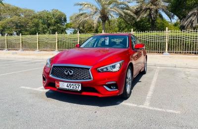 Infiniti Q50 Price in Dubai - Sedan Hire Dubai - Infiniti Rentals