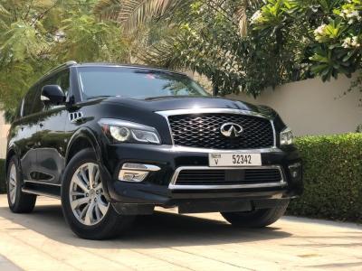 Infiniti QX80 Price in Dubai - SUV Hire Dubai - Infiniti Rentals