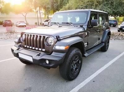 Jeep Wrangler Sport Price in Dubai - SUV Hire Dubai - Jeep Rentals