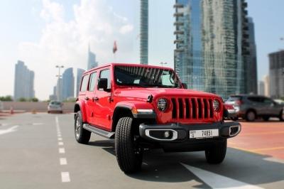Jeep Wrangler Unlimited Sahara Edition Price in Dubai - SUV Hire Dubai - Jeep Rentals