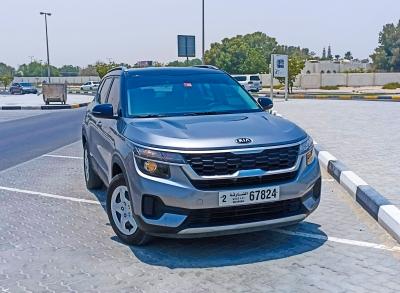 Kia Seltos Price in Sharjah - Crossover Hire Sharjah - Kia Rentals
