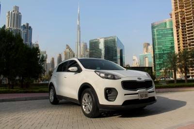 Kia Sportage Price in Sharjah - Cross Over Hire Sharjah - Kia Rentals