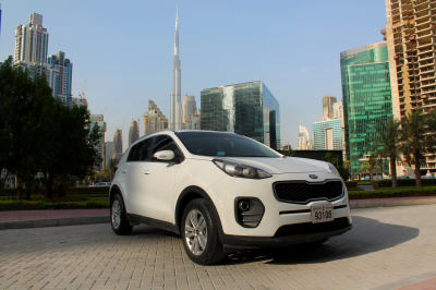 Kia Sportage Price in Ajman - Crossover Hire Ajman - Kia Rentals