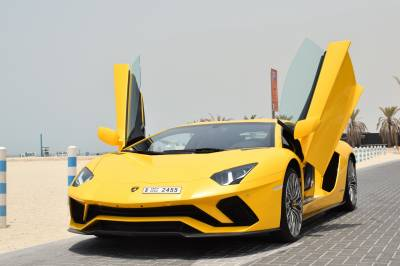 Lamborghini Aventador S Coupe LP740 Price in Dubai - Sports Car Hire Dubai - Lamborghini Rentals