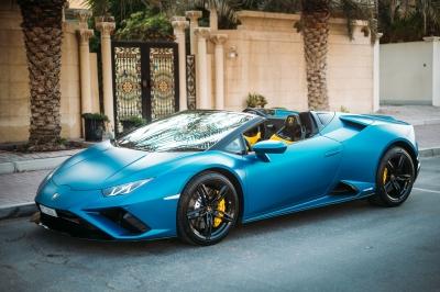 Lamborghini Huracan Evo Spyder Price in Dubai - Supercar Hire Dubai - Lamborghini Rentals