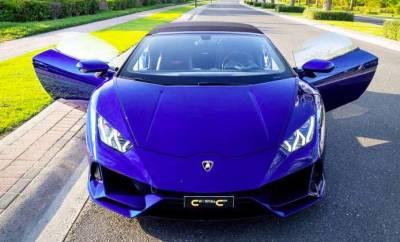 Lamborghini Evo Spyder Price in Dubai - Sports Car Hire Dubai - Lamborghini Rentals