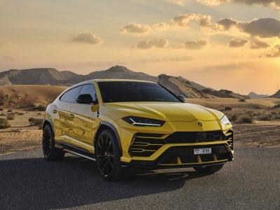 Lamborghini Urus Price in Abu Dhabi - SUV Hire Abu Dhabi - Lamborghini Rentals