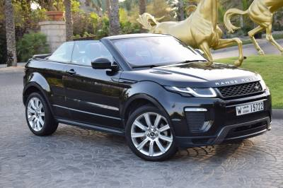 Land Rover Range Rover Evoque Convertible Price in Dubai - Crossover Hire Dubai - Land Rover Rentals