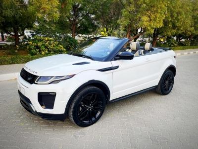 Land Rover Range Rover Evoque Convertible Price in Dubai - Convertible Hire Dubai - Land Rover Rentals
