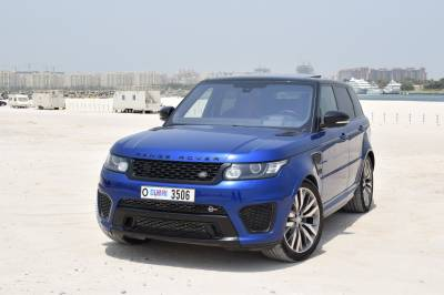 Land Rover Range Rover Sport SVR Price in Sharjah - SUV Hire Sharjah - Land Rover Rentals
