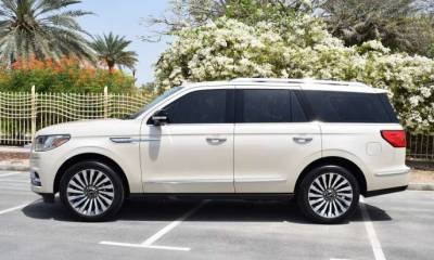 Lincoln Navigator Price in Sharjah - SUV Hire Sharjah - Lincoln Rentals