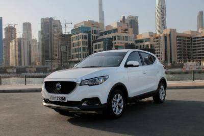 MG ZS Price in Dubai - Crossover Hire Dubai - MG Rentals