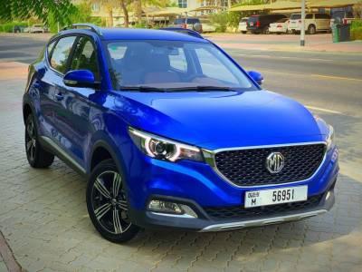 MG ZS Price in Dubai - Cross Over Hire Dubai - MG Rentals