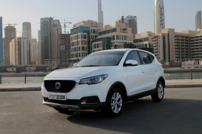 MG ZS Price in Ajman - Cross Over Hire Ajman - MG Rentals
