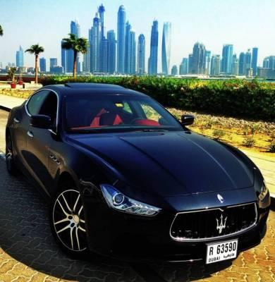 Maserati Ghibli Price in Dubai - Sports Car Hire Dubai - Maserati Rentals