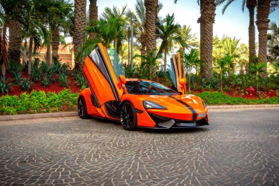 McLaren 570S Coup Price in Dubai - Sports Car Hire Dubai - McLaren Rentals
