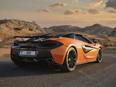 McLaren 570S Spyder Price in Dubai - Sports Car Hire Dubai - McLaren Rentals