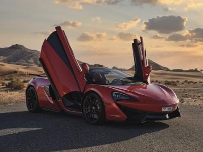 McLaren 570S Spyder Price in Dubai - Sports Car Hire Dubai - McLaren Rentals