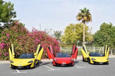 McLaren 570S Spyder Price in Sharjah - Sports Car Hire Sharjah - McLaren Rentals