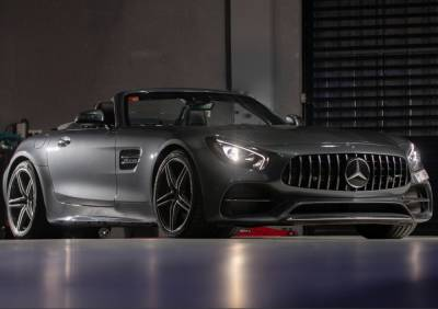 Mercedes Benz AMG GT Convertible  Price in Dubai - Convertible Hire Dubai - Mercedes Benz Rentals