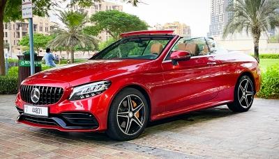 Rent Mercedes Benz C300 Convertible 2017