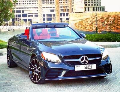 Mercedes Benz C300 Convertible Price in Dubai - Convertible Hire Dubai - Mercedes Benz Rentals