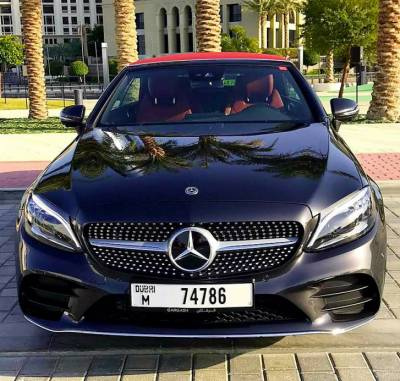 Mercedes Benz C200 Cabriolet Price in Dubai - Luxury Car Hire Dubai - Mercedes Benz Rentals