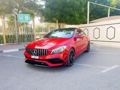 Mercedes Benz CLA 250 Price in Dubai - Sedan Hire Dubai - Mercedes Benz Rentals