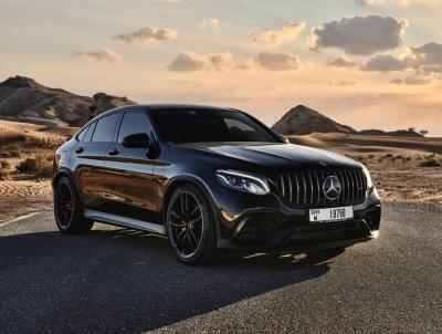 Mercedes Benz AMG GLC 63S Coupe Price in Dubai - SUV Hire Dubai - Mercedes Benz Rentals