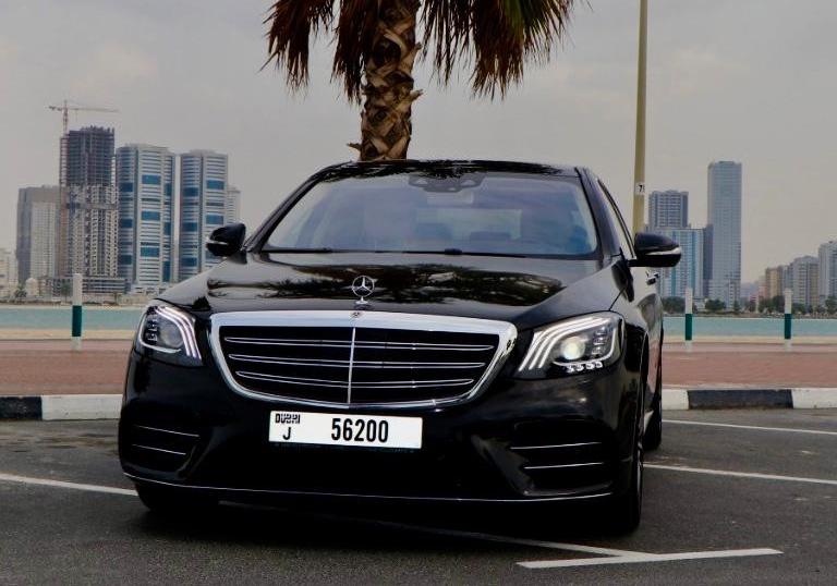 Rent Mercedes Benz S560 2020 car in Dubai: Day, monthly rental