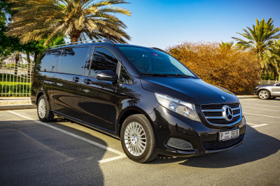 Mercedes Benz V250 Price in Dubai - Van Hire Dubai - Mercedes Benz Rentals