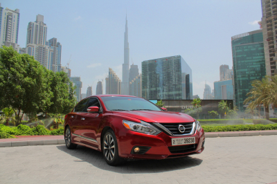 Nissan Altima Price in Ajman - Sedan Hire Ajman - Nissan Rentals