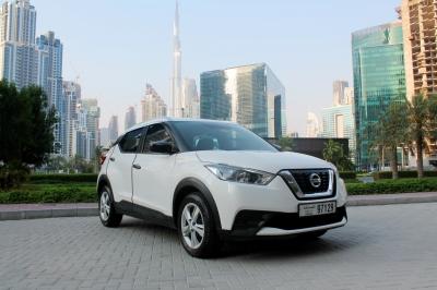 Nissan Kicks Price in Ajman - Crossover Hire Ajman - Nissan Rentals