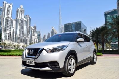 Nissan Kicks Price in Sharjah - Crossover Hire Sharjah - Nissan Rentals