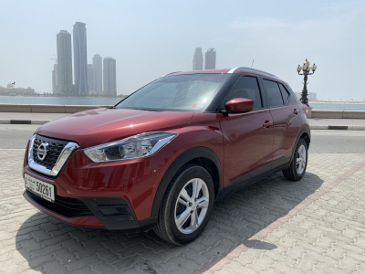Nissan Kicks Price in Sharjah - Crossover Hire Sharjah - Nissan Rentals