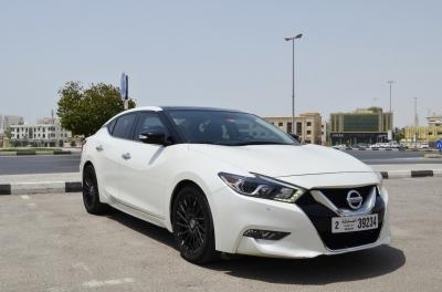 Nissan Maxima Price in Ajman - Sedan Hire Ajman - Nissan Rentals