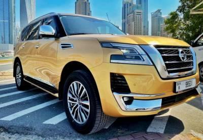 Nissan Patrol Platinum Price in Dubai - SUV Hire Dubai - Nissan Rentals