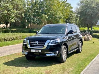 Nissan Patrol Titanium Price in Abu Dhabi - SUV Hire Abu Dhabi - Nissan Rentals