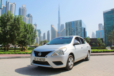 Nissan Sunny Price in Dubai - Sedan Hire Dubai - Nissan Rentals