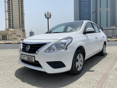 Nissan Sunny Price in Sharjah - Sedan Hire Sharjah - Nissan Rentals