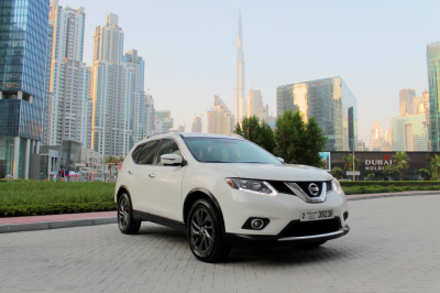 Nissan Xtrail Price in Ajman - Cross Over Hire Ajman - Nissan Rentals