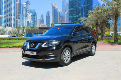 Nissan Xtrail Price in Sharjah - Crossover Hire Sharjah - Nissan Rentals
