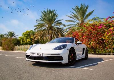 Porsche 718 Boxster GTS Price in Dubai - Convertible Hire Dubai - Porsche Rentals