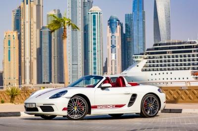 Porsche 718 Boxster S Price in Ras Al Khaimah - Sports Car Hire Ras Al Khaimah - Porsche Rentals