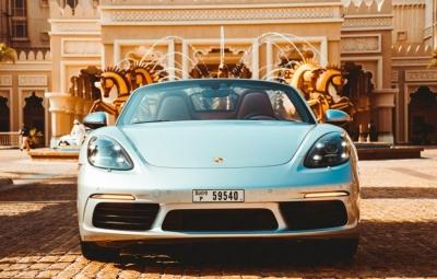 Porsche Boxster 718 S Price in Dubai - Sports Car Hire Dubai - Porsche Rentals