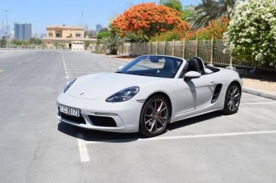 Porsche Boxster 718 S Price in Sharjah - Sports Car Hire Sharjah - Porsche Rentals