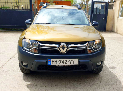 Renault Duster 4x4 Price in Tbilisi - Crossover Hire Tbilisi - Renault Rentals