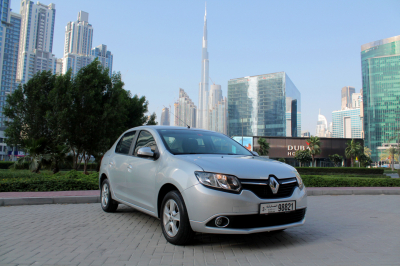 Renault Symbol Price in Sharjah - Sedan Hire Sharjah - Renault Rentals
